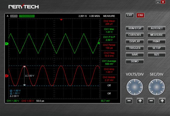 Digital Mini Size 200 MHz Interface oscilloscope Accessory x1 x10 oscilloscope Probe Clip Optional PP-200 Electrical Test Measure for Signal Test